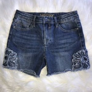 Girls Vigoss Jean The Malibu Mid-Shorts